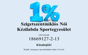 Kérjük támogasson minket adója 1%-ával!